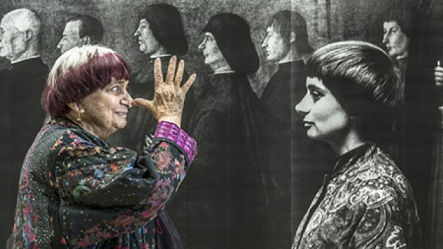 """Visages, villages"" d'Agnès Varda et JR en projection plein air"