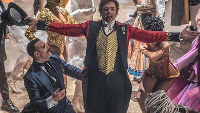 """The Greatest Showman"" de Michael Gracey en projection plein air"